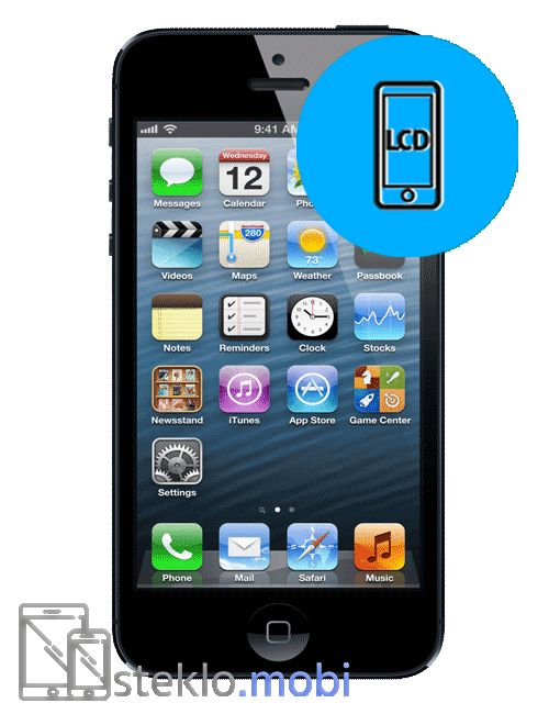 Apple iPhone 5 Menjava LCD ekrana