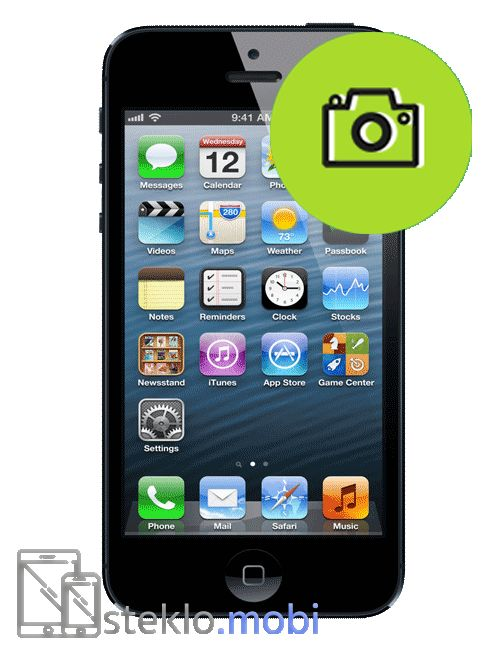 Apple iPhone 5 Popravilo kamere