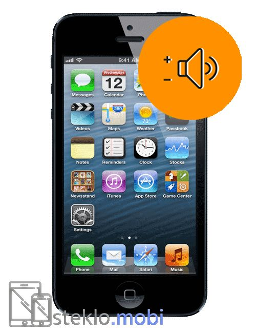 Apple iPhone 5 Popravilo tipk za glasnost