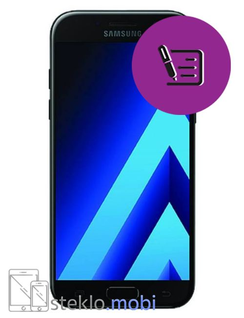 Samsung Galaxy A7 2017 Pregled in diagnostika